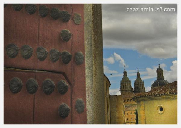 La Clerecía desde el Palacio de Fonseca