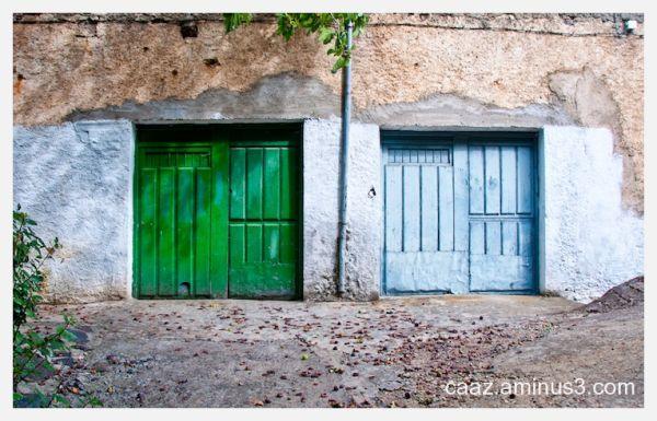 twin doors