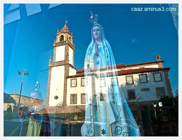 religious shop window