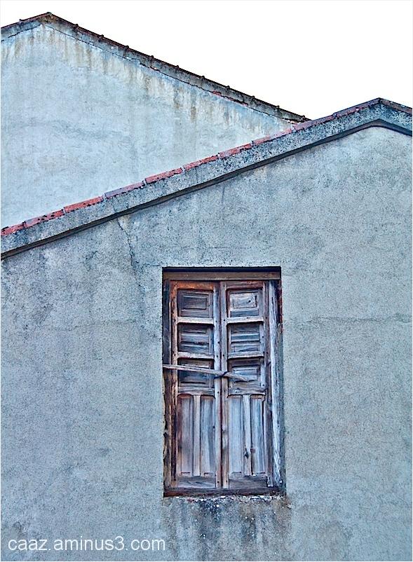 roof slopes & window
