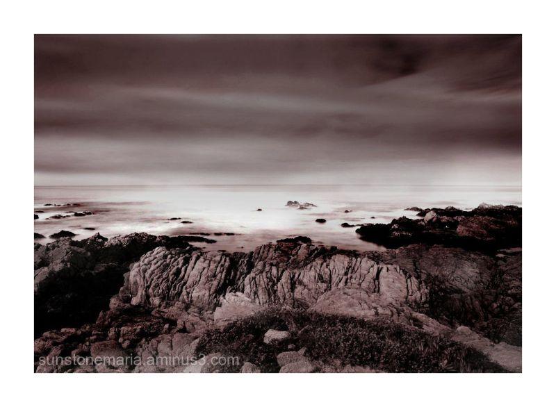 { where the sky meets the earth - Asilomar II }