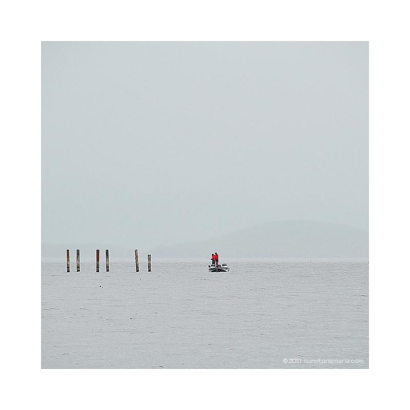 { six sticks one boat }