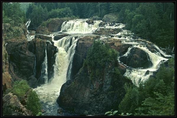 Aubrey Falls in Northern Ontario