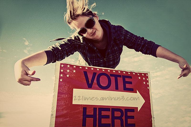 Rockin the vote!