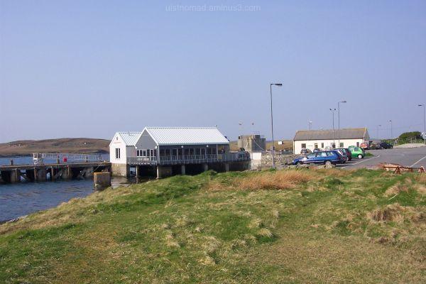 Loch nam Madadh Ferry terminal