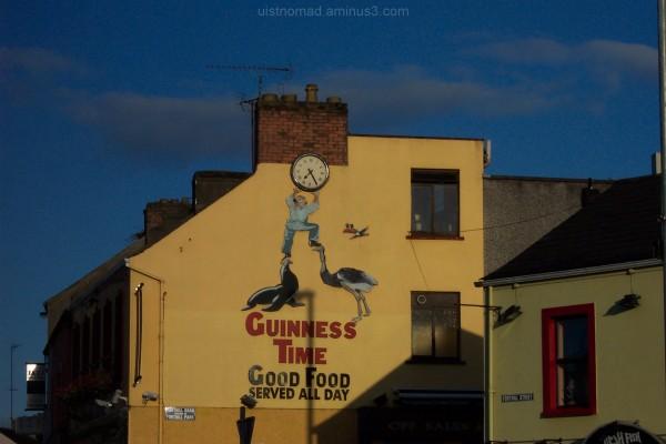 Some old Advertising in Enniskillen