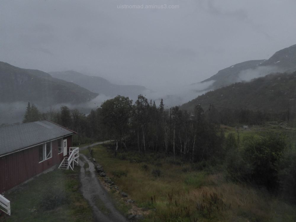 Wet day in Norway