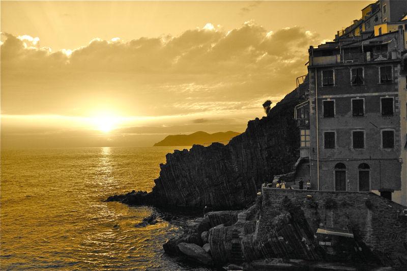 Cinque Terre shot