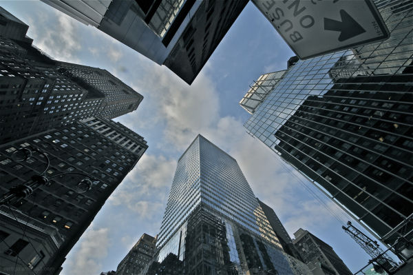 New york, Skycraper,