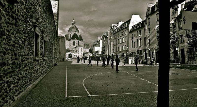 Children Playground in Paris