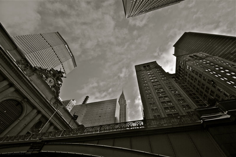 New york, Skycraper, Metlife, Grand central