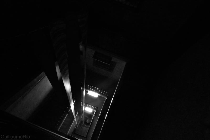 Barcelona stairs