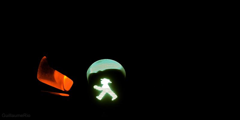 Ampelmann greenlight in Berlin