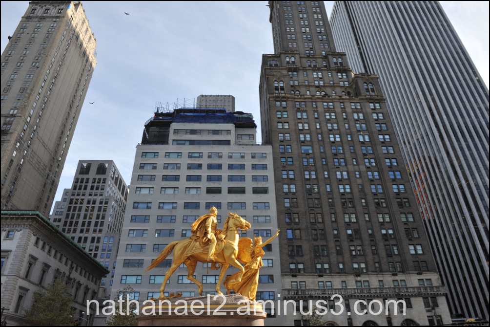 Golden horse...