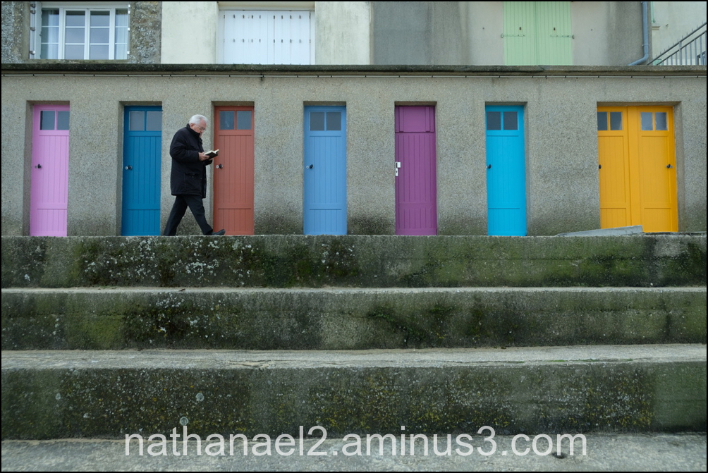 Doors and man...