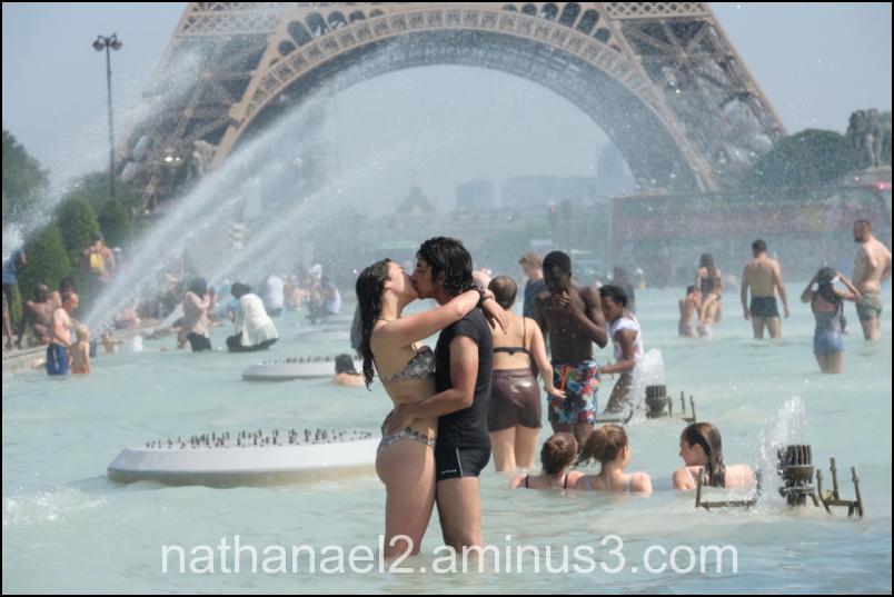 Hot in Paris...