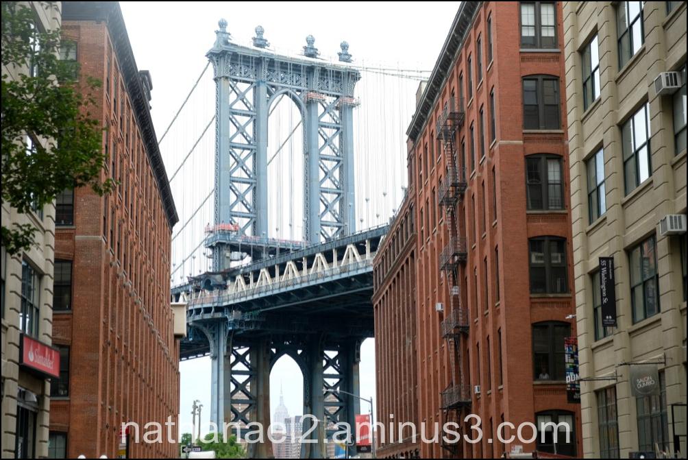 Bridge over troubled water...