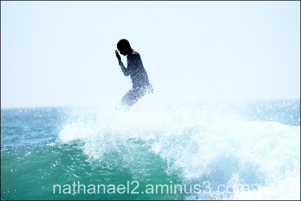 God's wave...