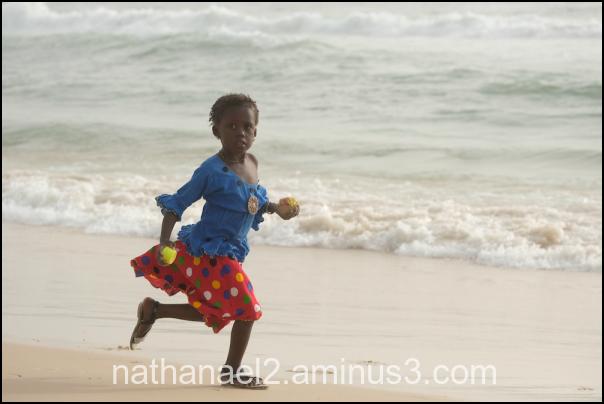 Sand and run...
