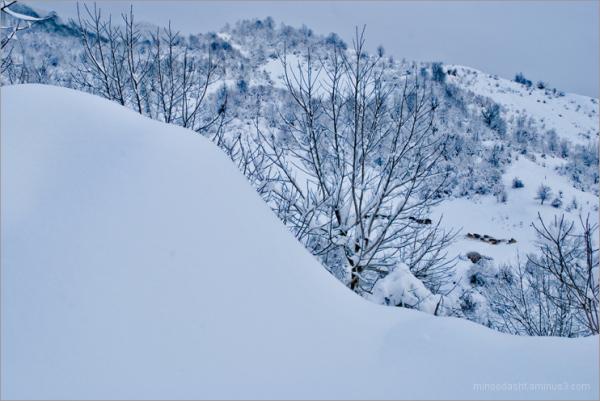 Minoodasht in winter