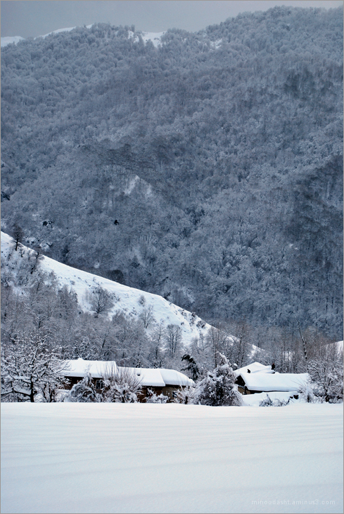 Minoodasht in winter 2012
