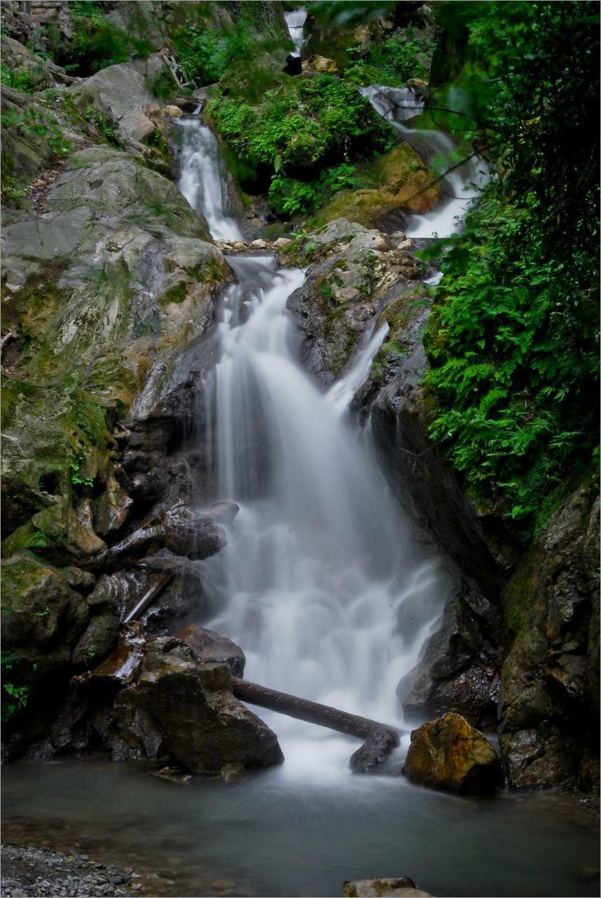 Iran - Golestan - Ali Abad - Waterfall Kaboodval 2