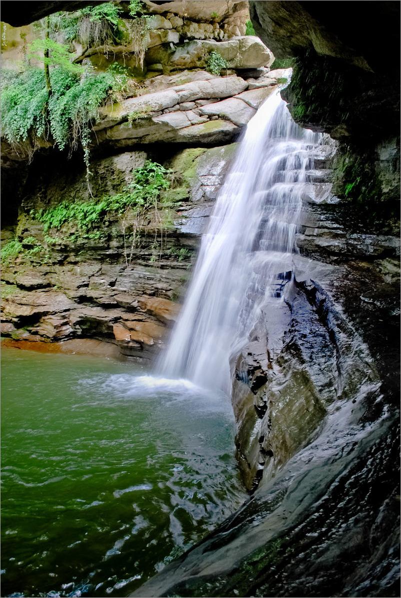 Iran - Golestan - Minudasht- Waterfall Sasangh