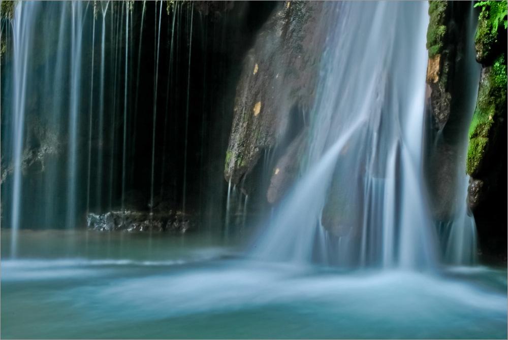 Iran - Golestan - Waterfall Kaboodval