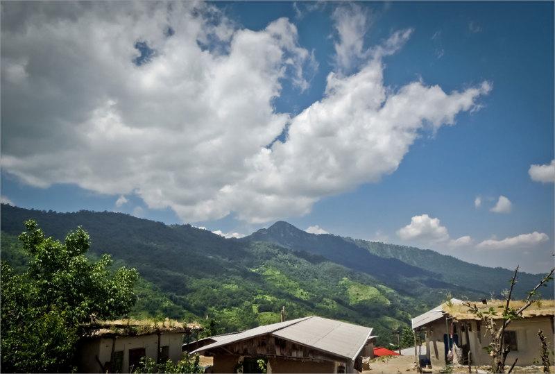 روستای باصفای ساسنگ مینودشت