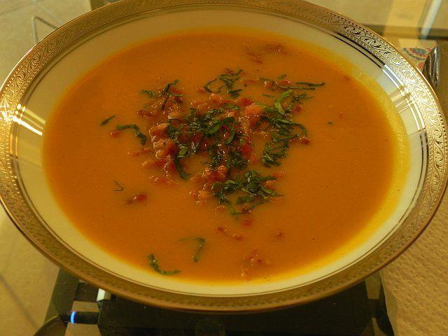 yummy squash soup