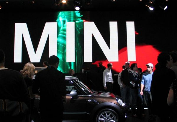 Presentation of the new Mini Cooper in Frankfurt (