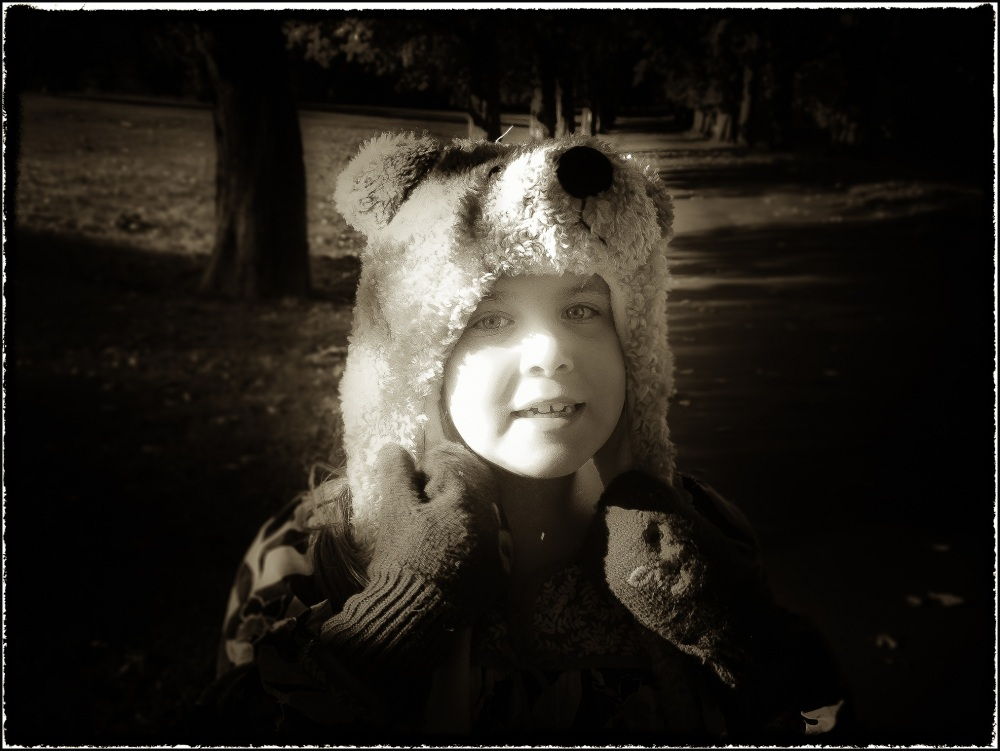 We're going on a bear hunt!  (Happy Birthdy Alice)