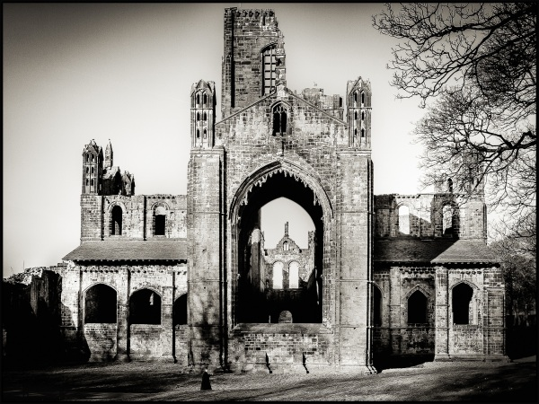 Kirkstall Abbey, Leeds. February 2013 #7
