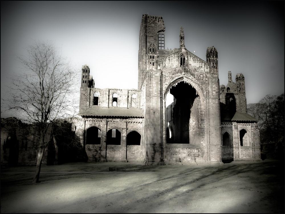 Kirkstall Abbey, Leeds. February 2013 #8