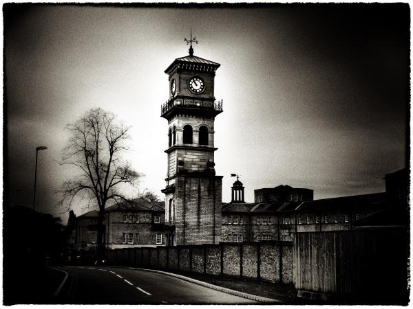 The clock tower, Stanley Royd Hospital Wakefield