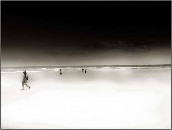 a walk on the beach III