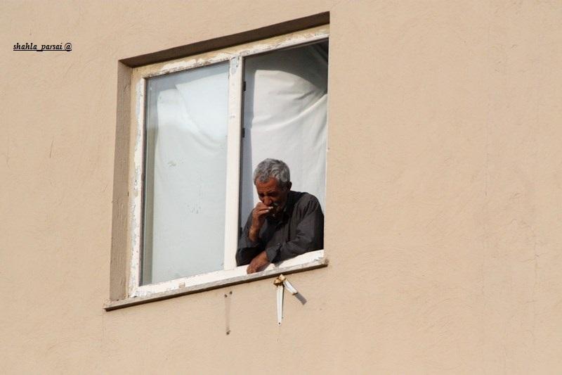 پنجره های آلوده به درد ...