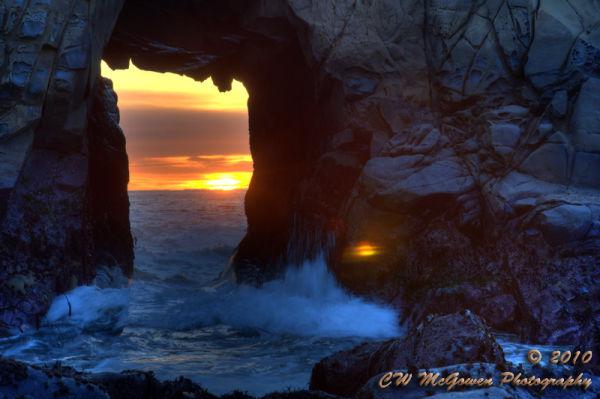 Hole in The Rock - Pfeiffer Beach