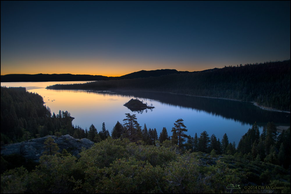 Emerald Bay - Golden Glow
