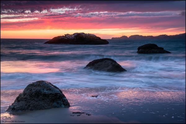 Colors of Baker Beach