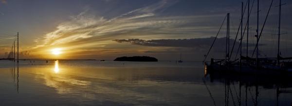 Sunsets on Lower Matecumbe Key, Florida