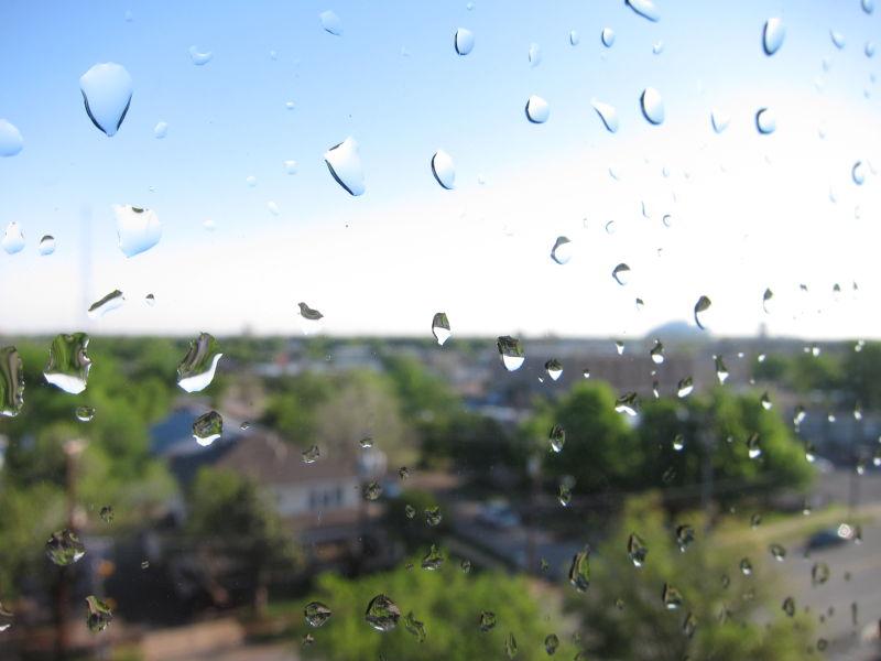 dews after t storm