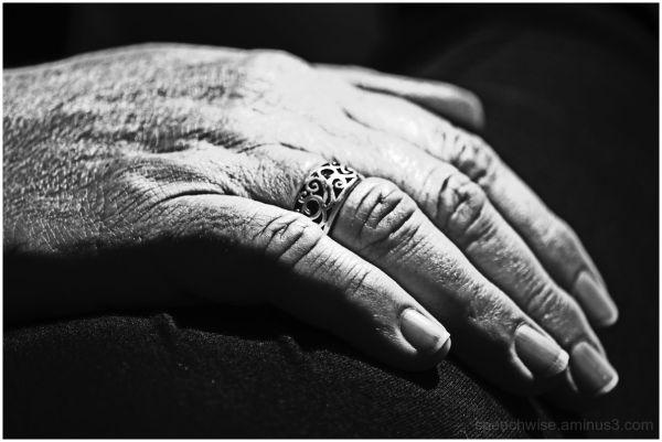 resting hand