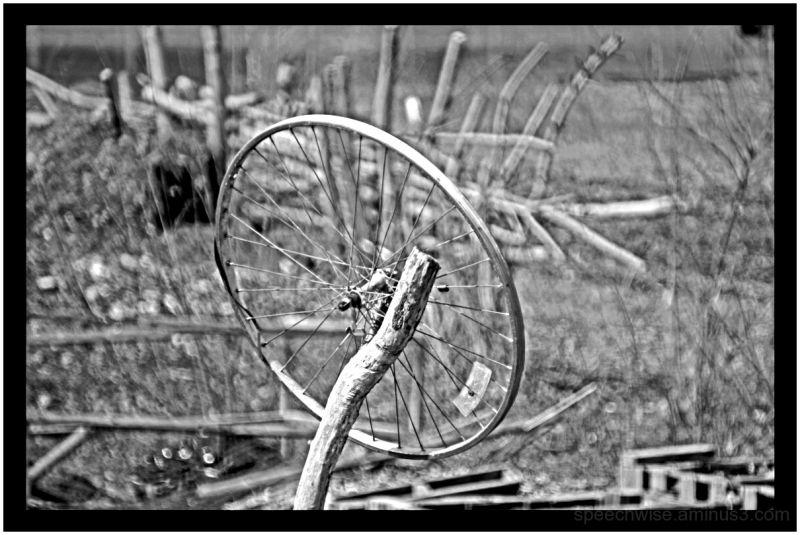 lost wheel