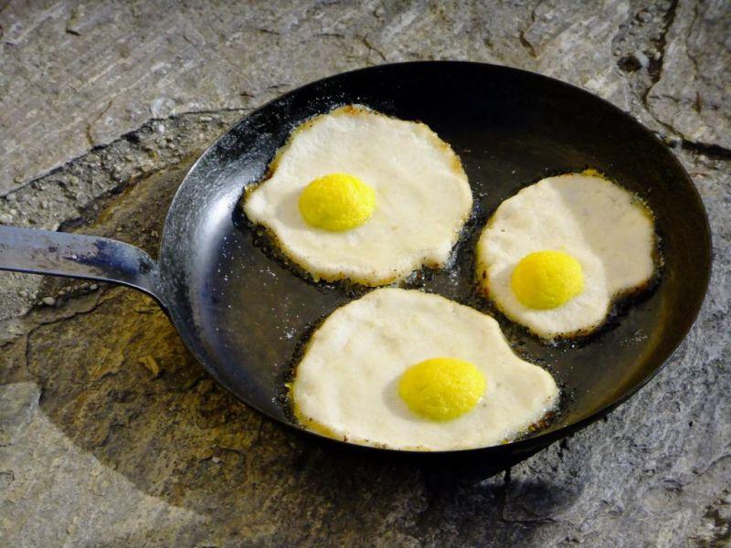 Falsche Eier/false eggs