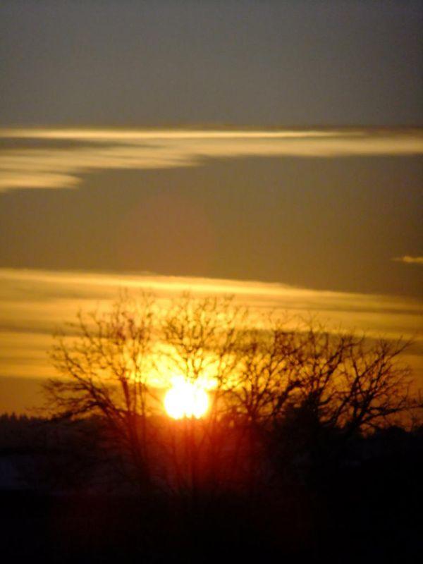 die Sonne ist untergegangen/sun has gone down