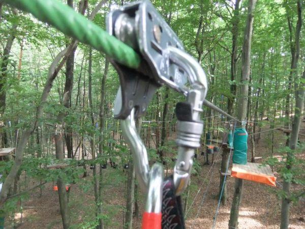 Hochseilgarten I - the high ropes I