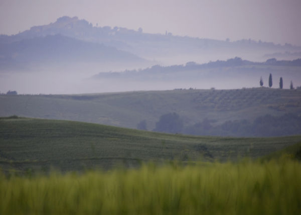Sunrise over Tuscany