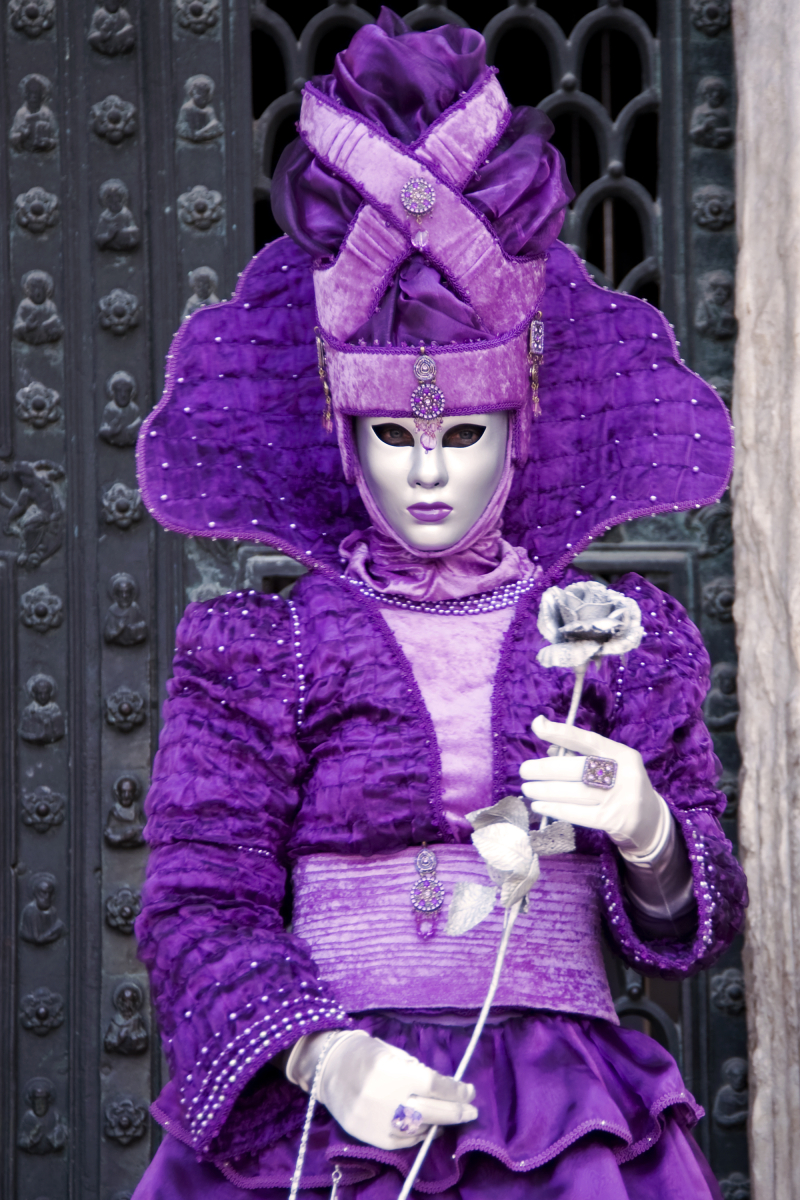 Mannequin during Venice Carnival
