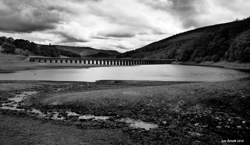 Ladybower Reservoir in Derbyshire